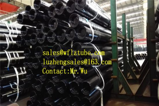 China OCTG K55 Piping, API 5CT L80 9%Cr 13% Cr Spec Seamless Tubing