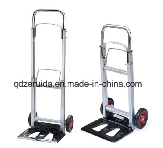 Aluminum Foldable Hand Truck (HT2101) pictures & photos