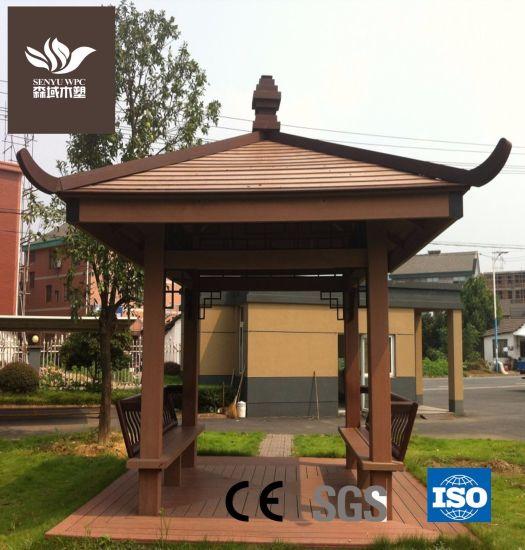 Fireproof and Waterproof WPC Garden Pavilion