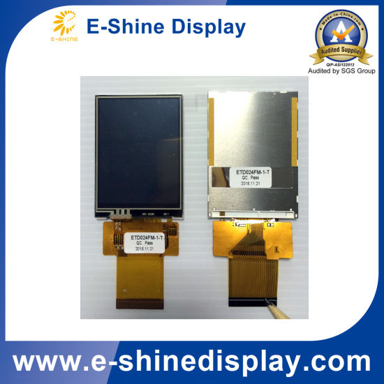 Customized Touch Screen LCD TFT Monitor Display Module with Resolution 240X320 pictures & photos