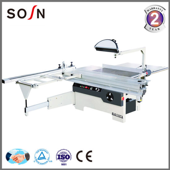 Wood Cutting Machine Precision Sliding Table Saw (MJ6116TD) pictures & photos
