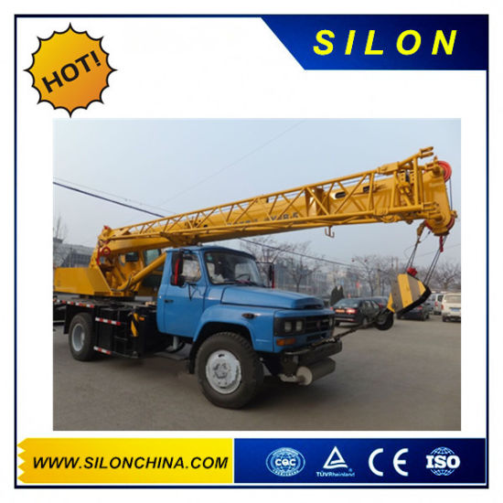 Silon 8ton Mobile Truck Cranes with Competitives Price (QY8B. 5) pictures & photos