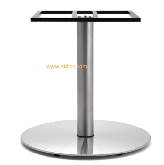 China SC Modern Restaurant Cafe Furniture Base Stainless Steel - Cafe table legs