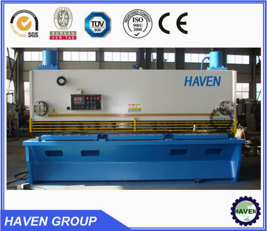 QC11Y-25X4000 Hydraulic Guillotine Shearing Machine, Steel Plate Cutting Machine pictures & photos
