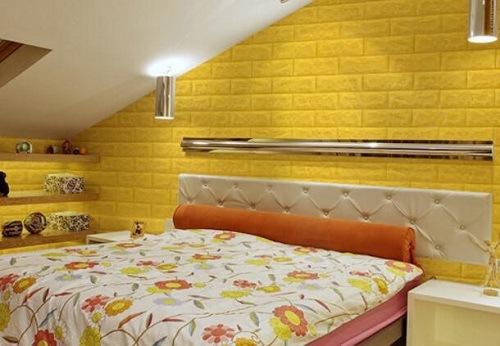China Interior Decorative Foam Brick Wall Paper/Panel/Sticker ...