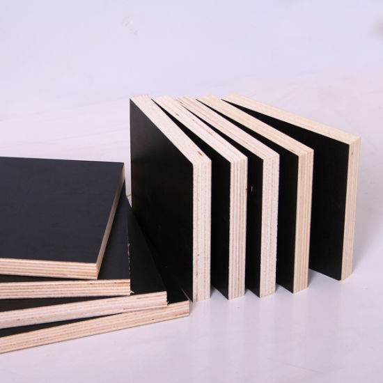 Film-Faced Plywood with Black Film (Construction Formwork Plywood)