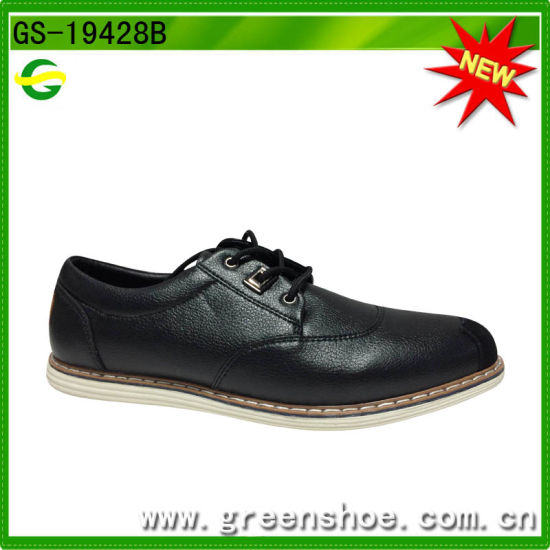 New Design Formal Shoes Men Leather Dress Shoes pictures & photos