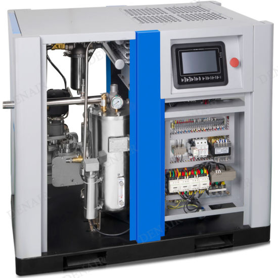 8bar\10bar\13bar Oil Free Screw Air Compressor (Pure Compressed Air) pictures & photos