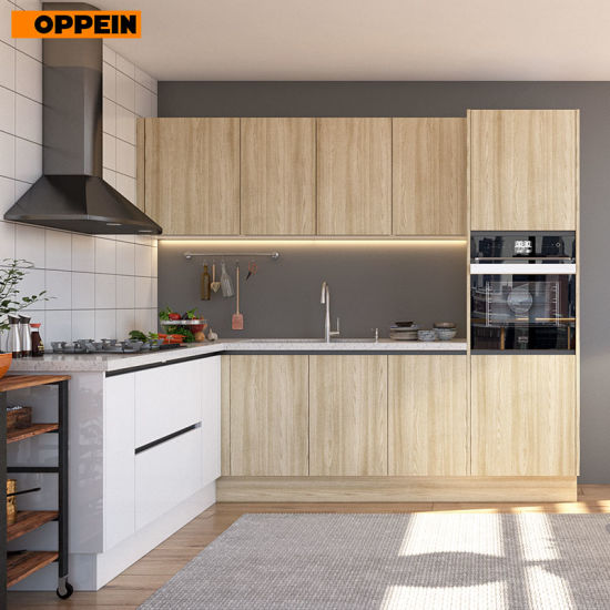 China Oppein Modular Kitchen Cabinets Type Kitchen Set