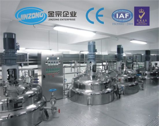 Chemical Industries Product Type Mixing Tank