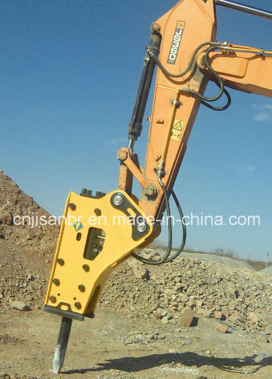 Kobelco Sk450hydraulic Breaker Top Type Hammer Jackhammer Excavator Attachments