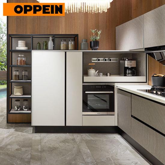 China Oppein Modern Design Fitted Kitchen Whole Set Kitchen Cabinet China Fitted Kitchen Whole Set Kitchen Cabinet