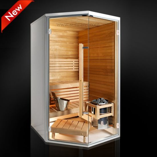 China Mini Outdoor Sauna Steam Cabin Room Sr1k002