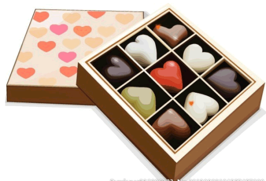 Hot Paper Candy Box Chocolate Gift With High End Quality Low Price