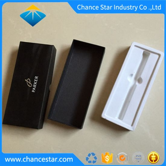 Custom Foil Printing Cardboard Pen Gift Packaging Paper Box