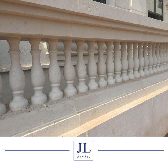 Natural Beige Travertine/Limestone/Sandstone for Column Sill Wall Cladding