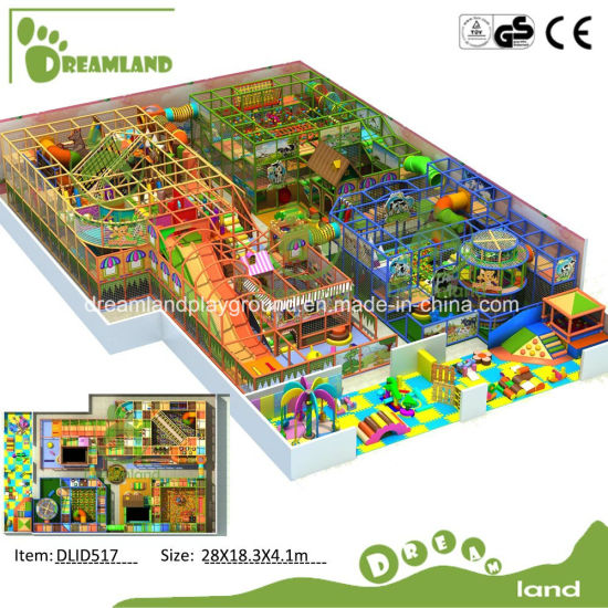Jungle Gym Customized Large Children Commercial Plastic Playground Equipment Kids Indoor Soft Playground