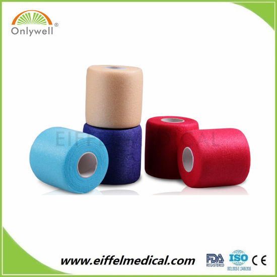 Skin Color Soft Breathable Elastic Foam Wrap Sports Underwrap