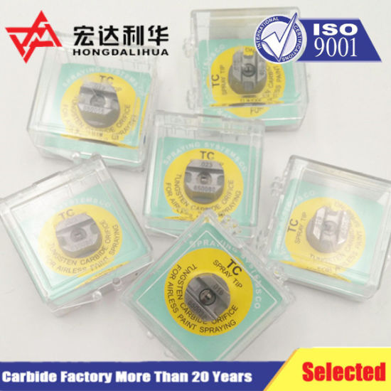 Tungsten Carbide Nozzles for Auto Spare Parts pictures & photos