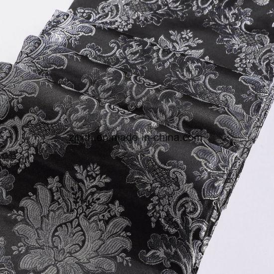 2018 European Royal Flower Jacquard Fabric for Home Textiles