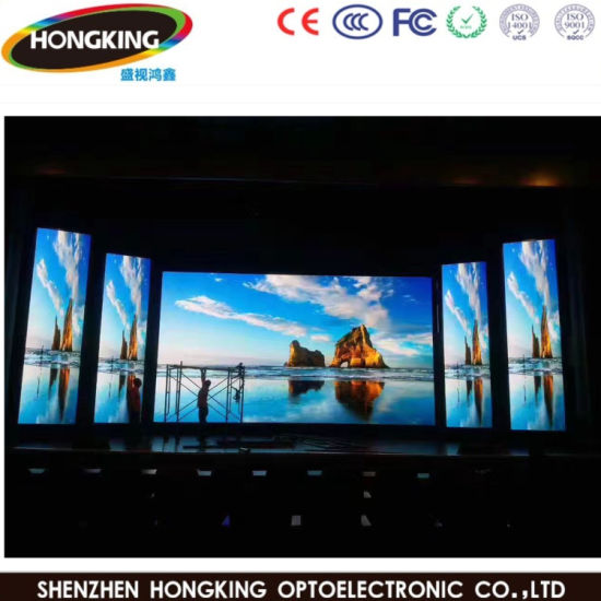 High Definition Factory Price P2 5 Indoor LED Panel Big Advertising LED  Display Screen
