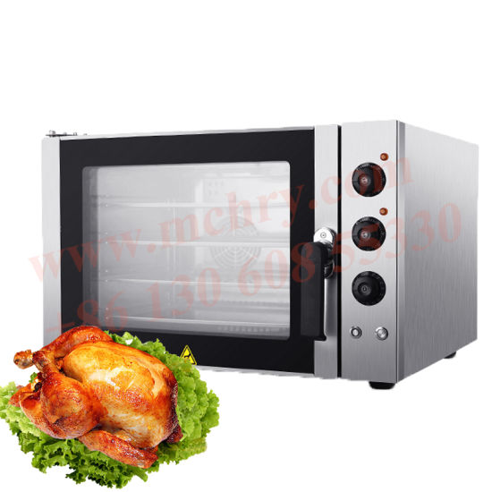 Home Bakery Small 4trays Baking Convection Oven with Spray Function