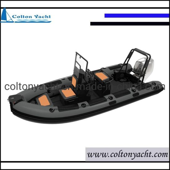 Aluminum Rigid Inflatable Fishing Boats, Aluminum Fishing Boat and Rib Boat with Engine