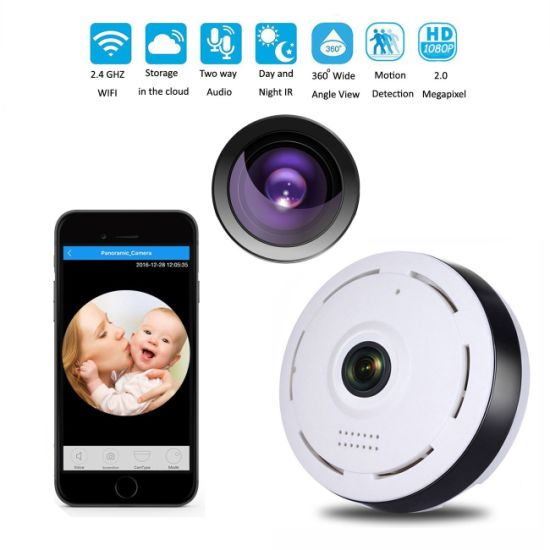 1080P Wireless Wifi Baby,Pet Monitor Motion Alarm IP CCTV Camera IR Night Vision