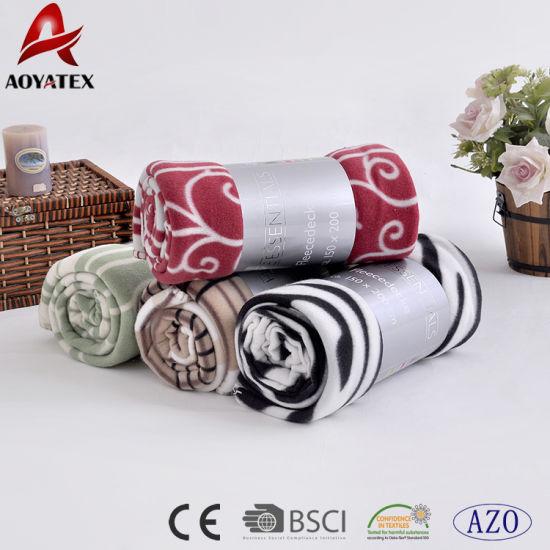 Clic Multipattern Custom Print Polar Fleece Blanket