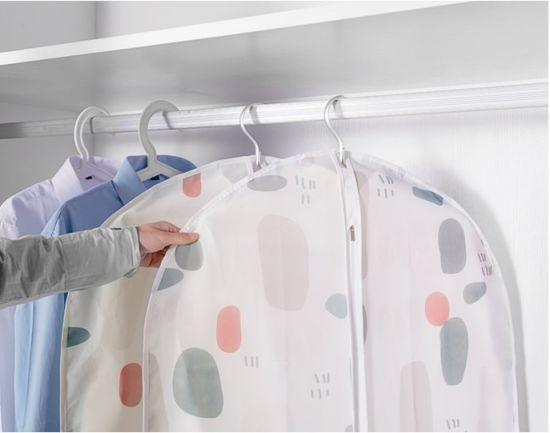 Hanigng Transparent Polester Garment Bag for Uniform/Dress/Suit