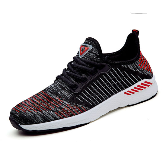 China Lowest Price No Name Flyknit Mesh