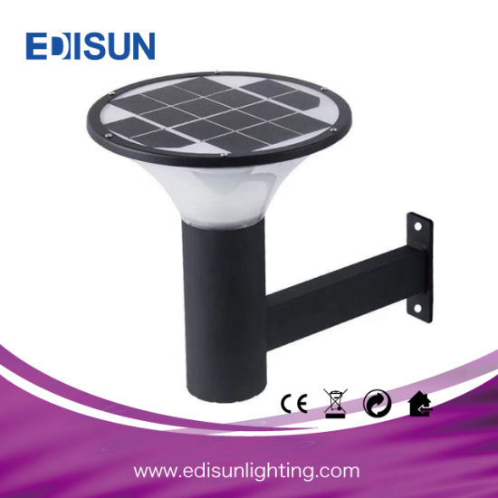 Solar Powered Garden Wall Lamp Pathway Light for Outdoor