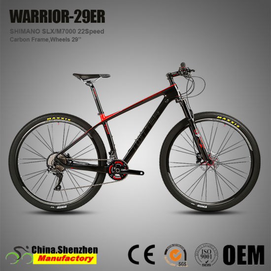 Black Simple 29inch Mountain Bicycle for Hot Sale Warrior 29er