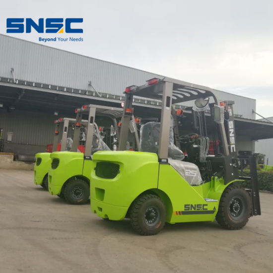 Container Mast Forklift 2.5t