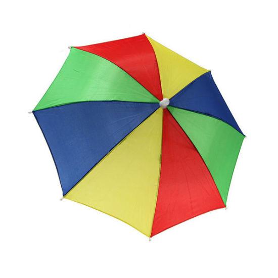 3f5afff60a2 Outdoor Sport Umbrella Hat Cap Fishing Hiking Beach Camping Headwear Cap  Head Hats Camouflage Foldable Sun Umbrellas