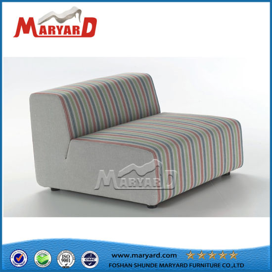 China Big Size Outdoor Pool Single Without Arm Sofa China Colorful