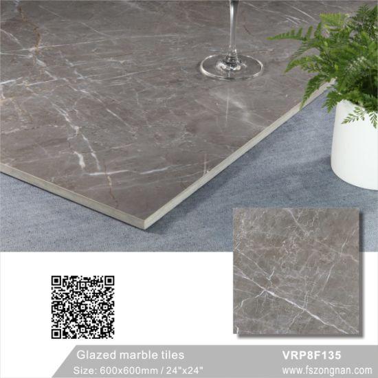 China Foshan Gray Full Body Marble Porcelain Ceramic Floor Tile