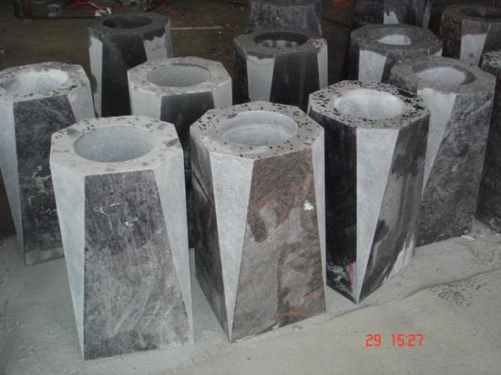 China Natural Stone Vase Direct Sale Of Granite Vase Funeral China