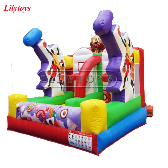Lilytoys PVC Typ Indoor N Outdoor Sport Games Inflatable Basketball Hopp