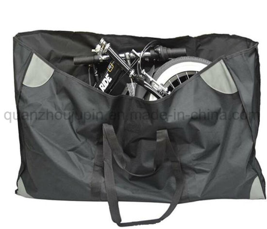 OEM PVC Folding Bicycle Bike Storage Shoulder Bag pictures & photos