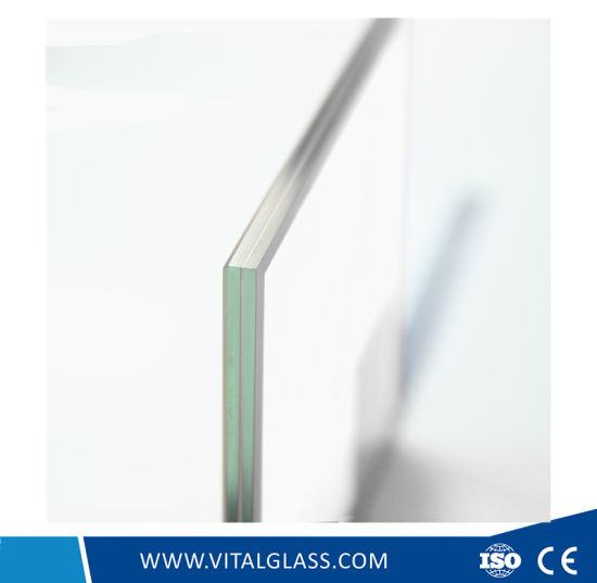 Frameless Toughened Colored/Clear Laminated Glass for Facade pictures & photos