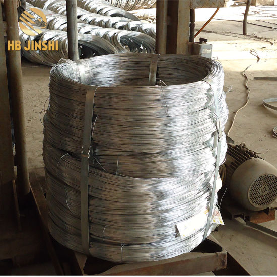 2.7mm Low Carbon Steel Wire Hot Dipped Galvanized Galfan Wire