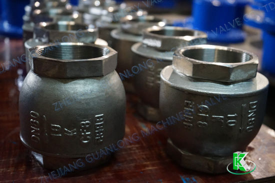 Thread Screw End Lift Type Non Return Check Valve (H11) pictures & photos