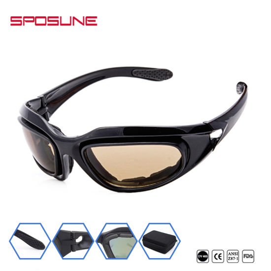 481021137f16 Two Lenses PC Ballistic Eye Glasses Military Sunglasses Tactical Eyeglasses  pictures   photos