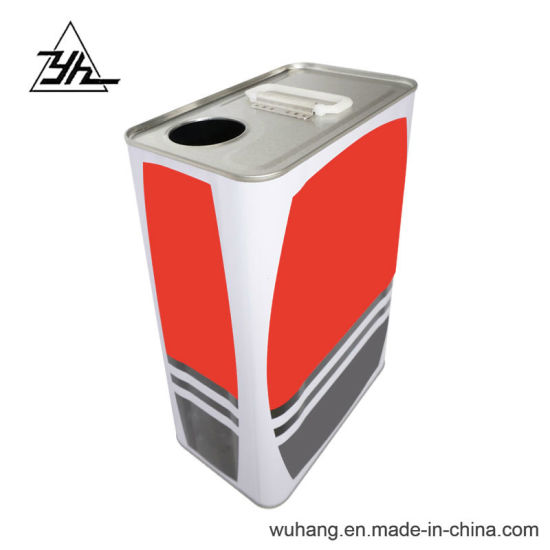 Hot Selling 3.5-5 Liter Tin Package Chemical Metal Cans pictures & photos