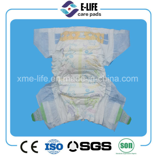 6-12 Month Cotton Baby Diaper with Competitive Price pictures & photos