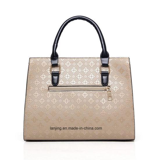 OEM   Whosale Latest Fashion 2018 PU Leather 5 Pieces Set Women Bag Tote  Handbag with Cheap Price c5aae0015e0b4