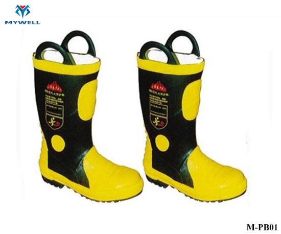 M-Pb01 Fire Retardant Protective Resistant Boots