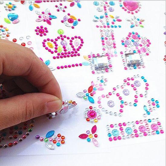 China Crystal Diamond Gem Rhinestone Scrapbooking Car Stickers ... 68af1726b9fa