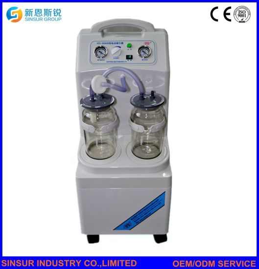 Hospital Surgical Equipment Abortion Electric Mobile Machine Suction Unit